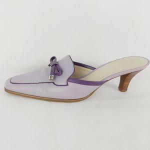 Vintage ETIENNE AIGNER slip on leather shoes